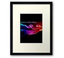 Electronic Dance Music Framed Print