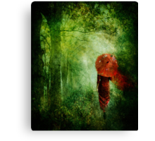 red autumn Canvas Print