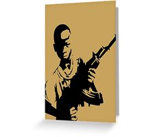YOUTH REBEL SOLDIER Greeting Card