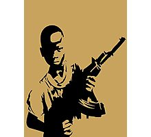 YOUTH REBEL SOLDIER Photographic Print