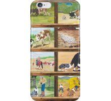 Stockdog ~ Working Australian Shepherd ~ Collage iPhone Case/Skin
