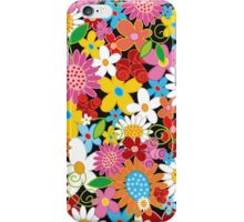 Colorful Spring Flowers Garden iPhone Case/Skin