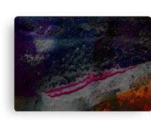 macro -off the wall 2 Canvas Print