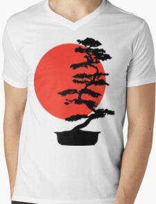 Go Bonsai Now Mens V-Neck T-Shirt
