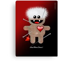 VOODOO LOVE Canvas Print