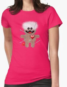 VOODOO LOVE Womens Fitted T-Shirt