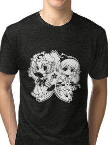 Touhou - Yuyuko & Youmu Tri-blend T-Shirt