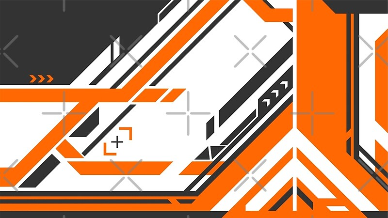"CSGO | Asiimov Pattern v2"" Posters by archanor 