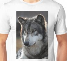 back light wolf Unisex T-Shirt