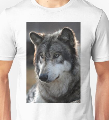 back light wolf Unisex T-Shirt