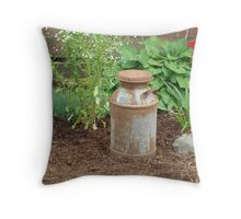 Old Fashioned Milk Can Throw Pillow