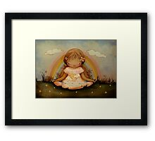 The Garden of Peace Framed Print