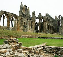 Whitby Abbey by hans p olsen