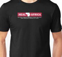 Heal Africa black T-SHIRT Unisex T-Shirt