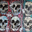 Bunnies and Skulls by David Irvine