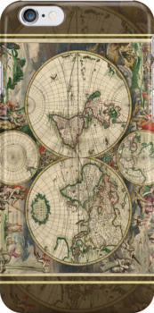 World Map 1689 by SOIL