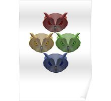 All of the Owls! Poster