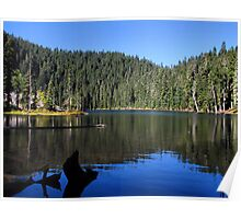 """Blue Lake """"Indian Heaven"""" Wilderness  Poster"""