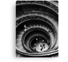Musei Vaticani: Descent Canvas Print