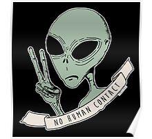 No Human Contact Poster