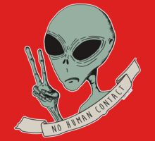No Human Contact One Piece - Short Sleeve