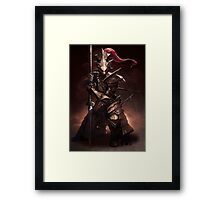 Dragon Slayer Ornstein Framed Print
