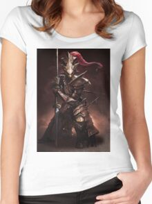 Dragon Slayer Ornstein Women's Fitted Scoop T-Shirt