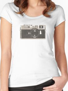 M9 Camera Women's Fitted Scoop T-Shirt