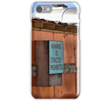 Dismaland - Winning is Strictly Prohibited iPhone Case/Skin