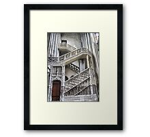 Cathedrale Notre Dame de Rouen (6) The Staircase Framed Print