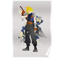 Final Fantasy 7: Cloud Strife Giclee Art Print Poster