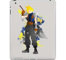 Final Fantasy 7: Cloud Strife Giclee Art Print iPad Case/Skin