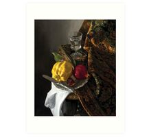 Quince and Pomegranate Art Print