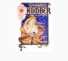 Humber Cycles 1890s Vintage Advertising Poster T-Shirt