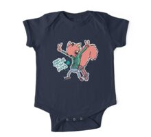 Urban Squirrel is the nuts One Piece - Short Sleeve