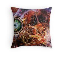 Clockworks VI Throw Pillow