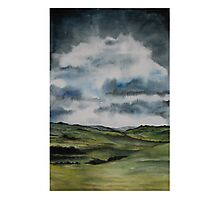 Stormy sky over Bowland 2 Photographic Print