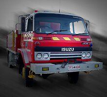 Bushfire Truck by UncaDeej