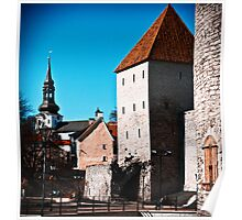 City Wall Poster