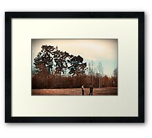The Trees are Tall Framed Print