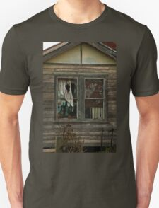 0407 Neglected Old Window Unisex T-Shirt
