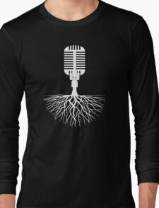 Musical Roots (Microphone) Long Sleeve T-Shirt