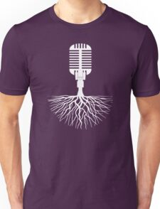 Musical Roots (Microphone) Unisex T-Shirt