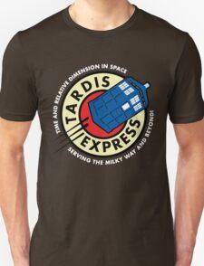 Tardis Express Futurama Doctor Who T-Shirt