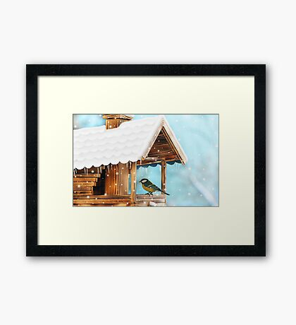 A Winter Resting Place Framed Print