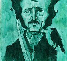 Edgar Allan Poe by Grant Lankard