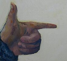 Pointing  by MIchelle Thompson