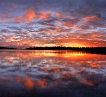 One Moment In Time - Narrabeen Lakes, Sydney Australia - The HDR Experience by Philip Johnson