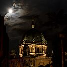 Moon, Church, Night. by tutulele
