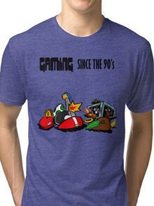 Gaming Since the 90's Tri-blend T-Shirt
